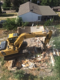 sustainable design build denver colorado west colfax 1265 xavier demolition
