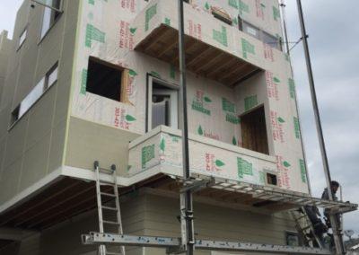 sustainable design build denver colorado west colfax 1220 perry siding install hardie tyvek window balcony