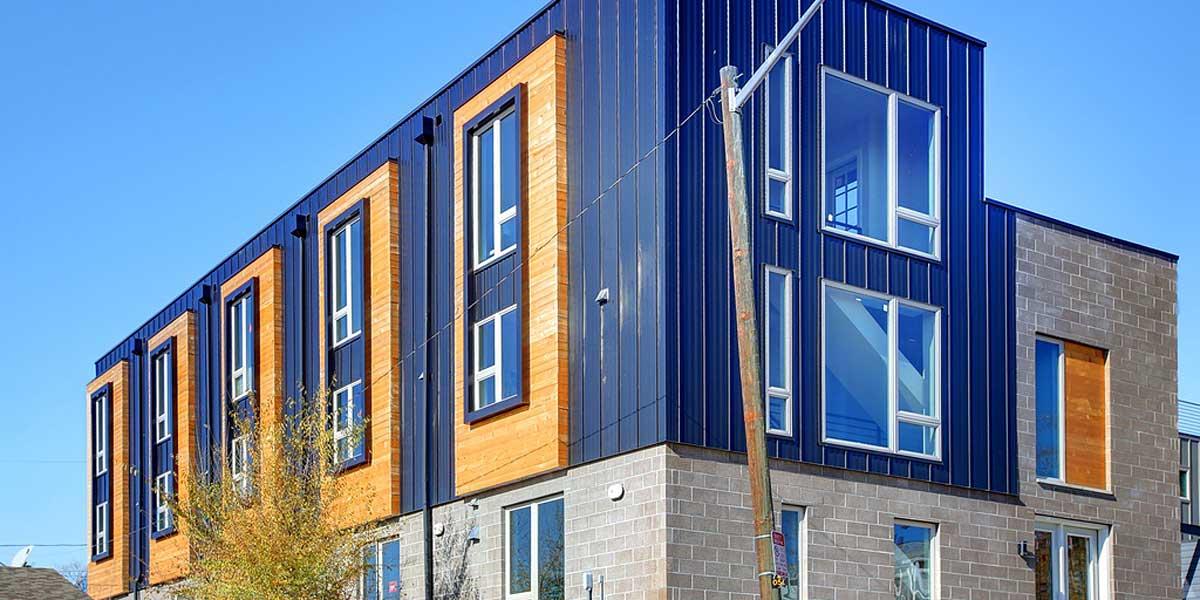 Sustainable Design Build Denver Colorado West Colfax 1265 Xavier Front Exterior Detail