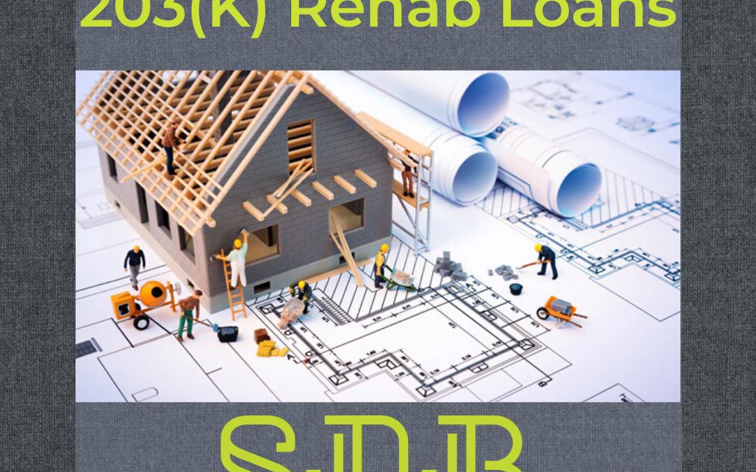 Remodel Finance FHA 203(k)