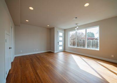 sustainable design build denver colorado west colfax 1365 zenobia natural light living room hardwood open concept