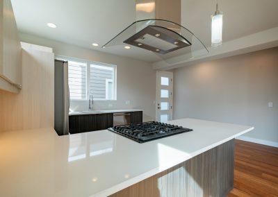 sustainable design build denver colorado west colfax 1365 zenobia kitchen quartz stainless appliance natural light