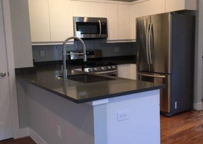 sustainable design build denver colorado west colfax 1275 xavier stainless steel appliances quartz countertop custom cabinet