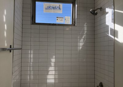 sustainable design build denver colorado west colfax 1220 perry during construction custom tile subway 46.5 bathtub