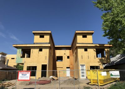 sustainable design build denver colorado west colfax 1365 zenobia framing sheathing structural straps