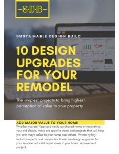 Sustainable Design Build 10 design build upgrades remodel builder