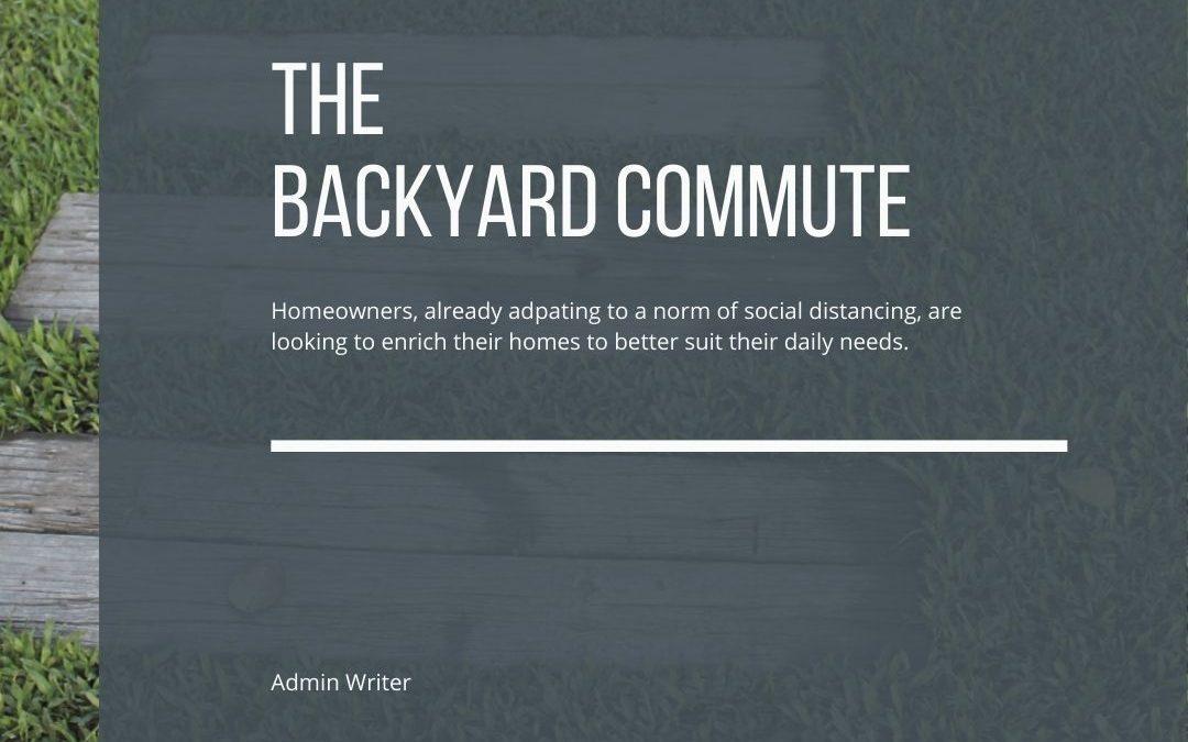 The Backyard Commute: Remodels in Denver take an interesting twist