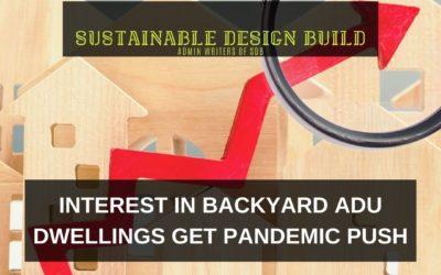 Interest in Backyard ADU Dwellings Gets Pandemic Push