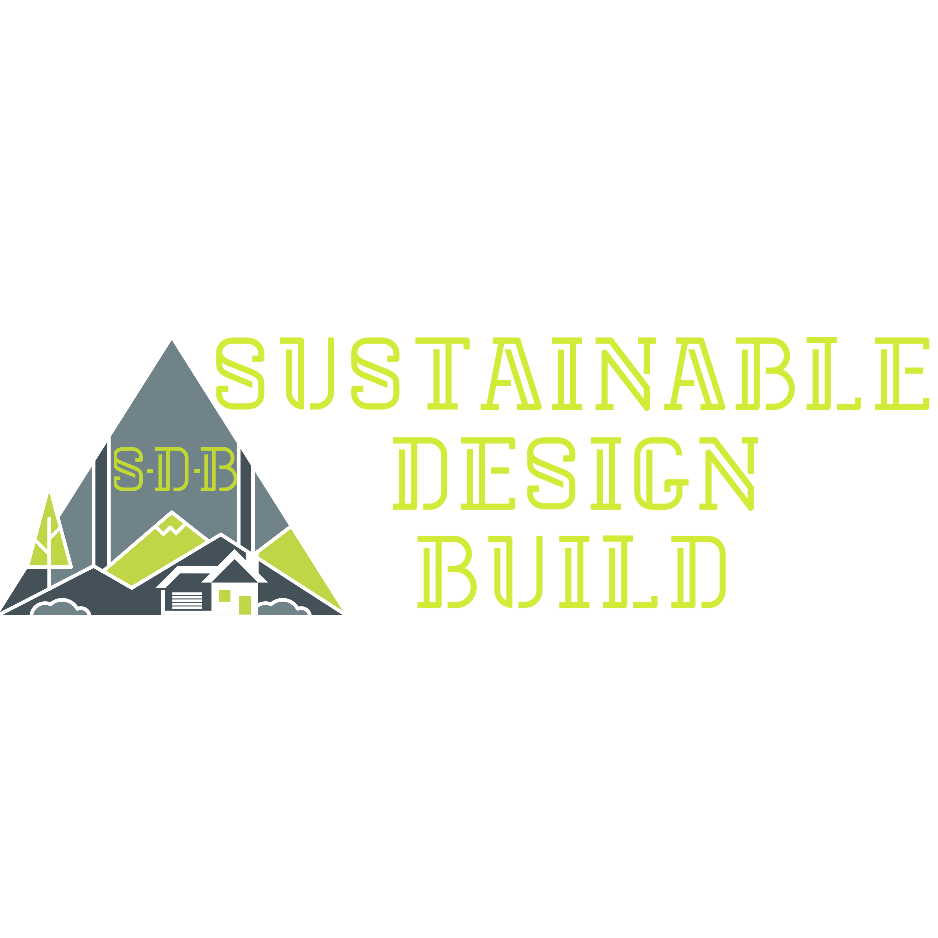 Sustainable Design Build Firm Denver Mountains Trees house green white grey foothills