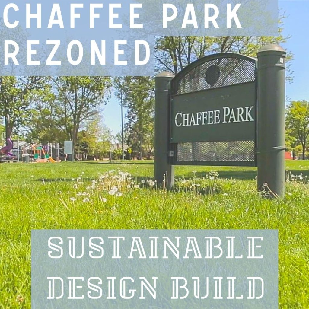 Chaffee Park green grass adu neighborhood denver