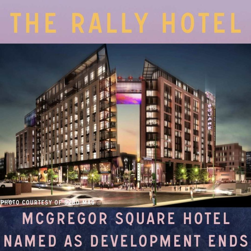 McGregor Square Hotel Named As Development Ends