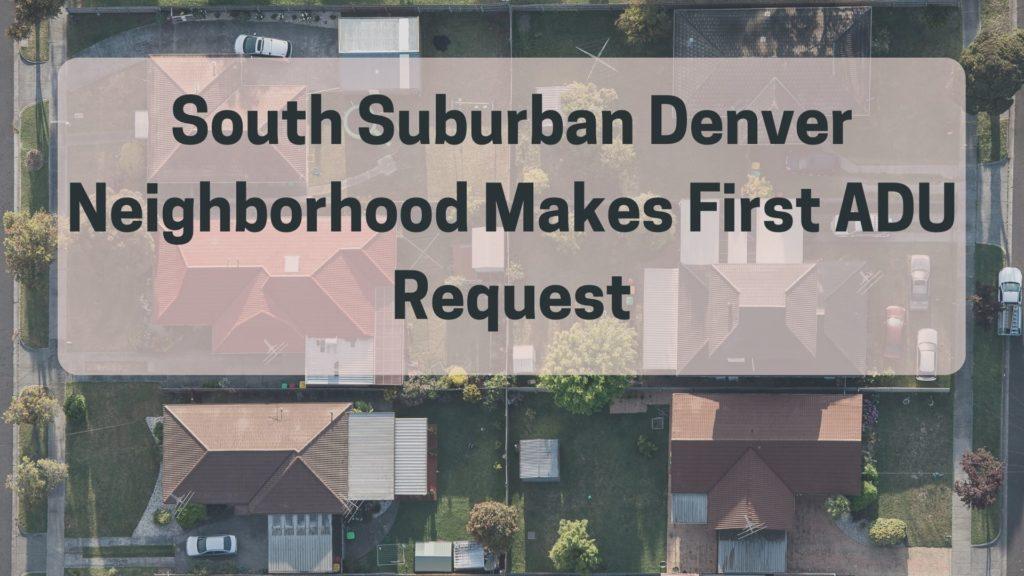 South Suburban Denver ADU Title