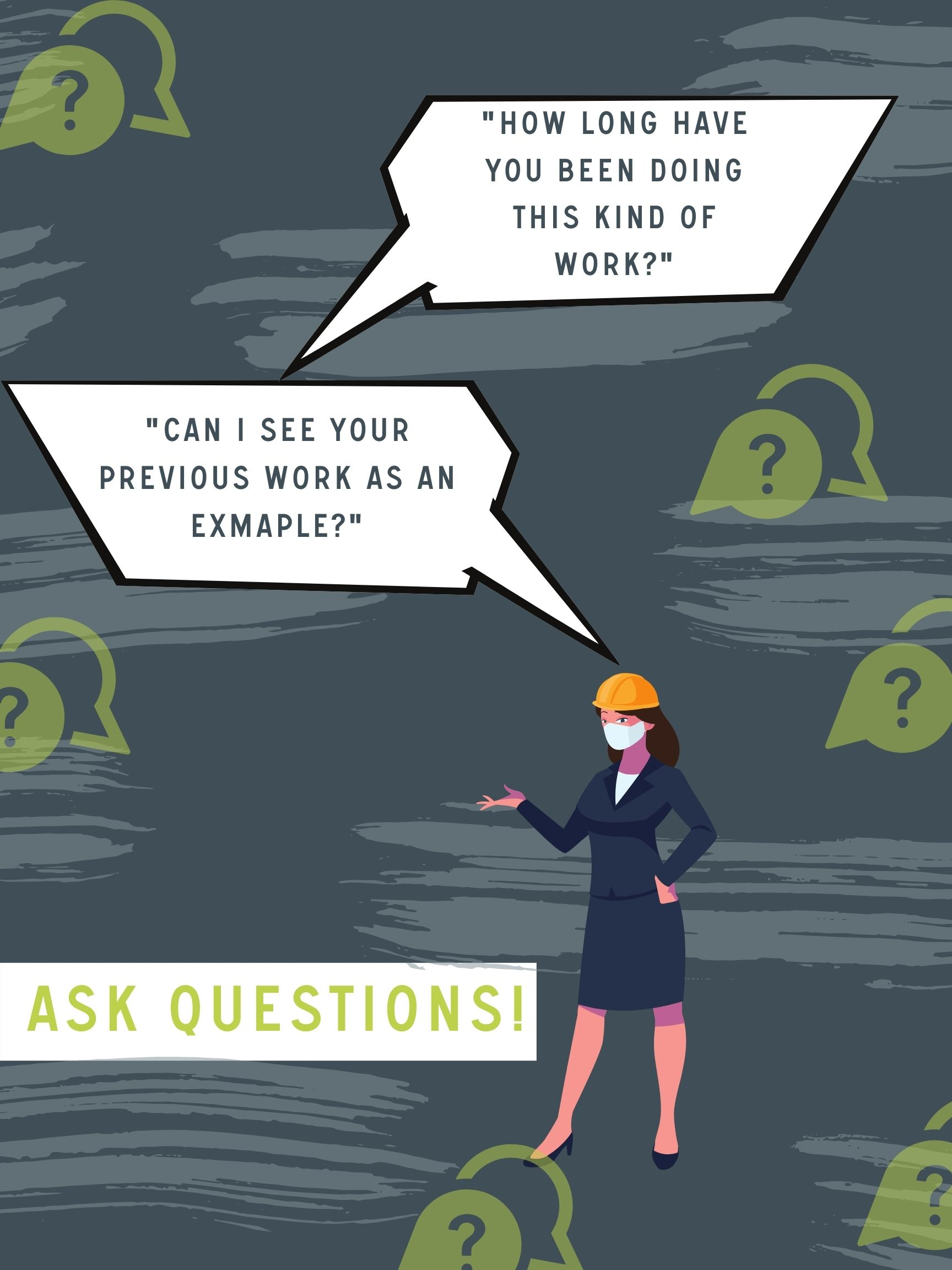 Graphic 10 questions to ask Your Home Remodeling contractor