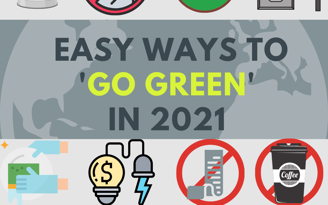 Ways to be Sustainable and Green in 2021