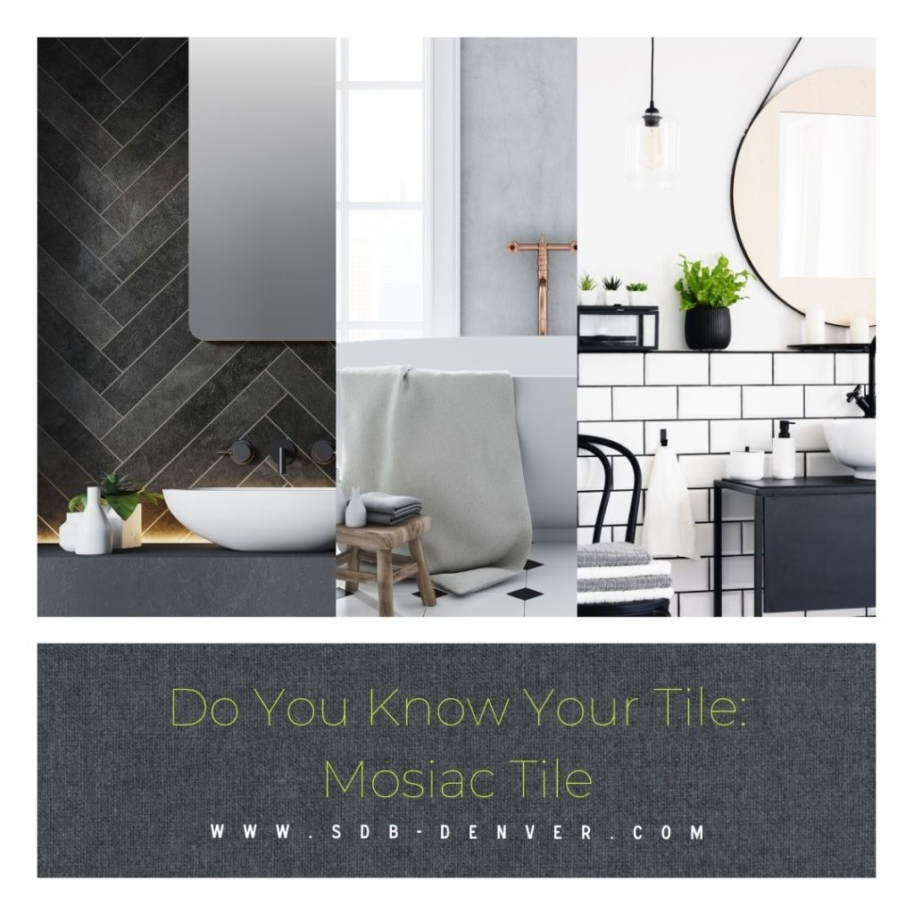 Do you know your tile: mosaic tile remodel finish