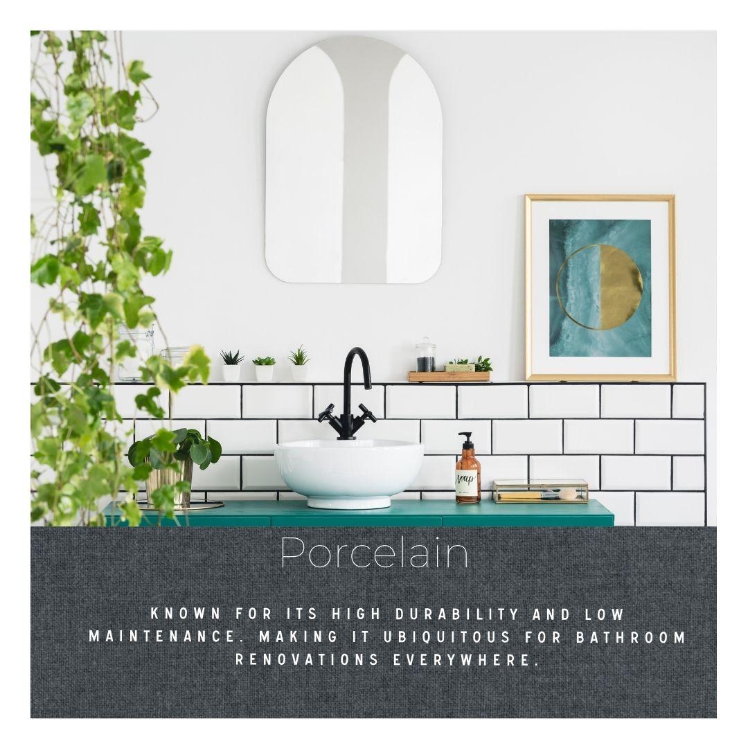Do you know your tile: mosaic tile remodel finish natural porcelain tile