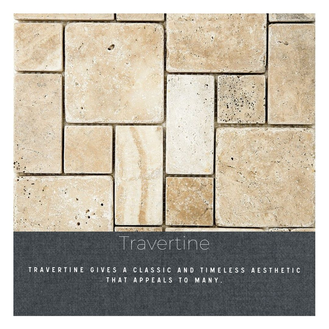 Do you know your tile: mosaic tile remodel finish natural travertine tile