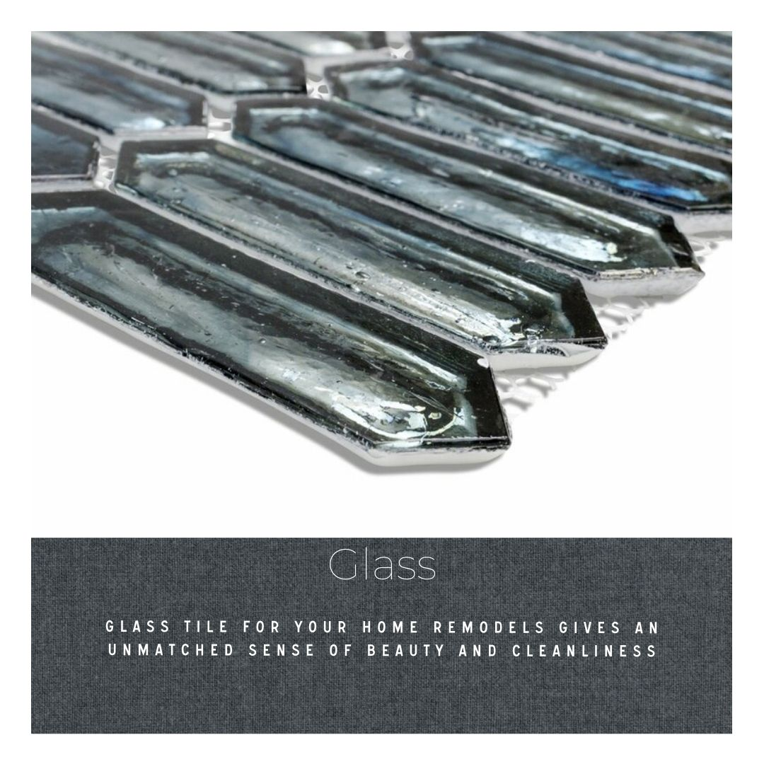 Do you know your tile: mosaic tile remodel finish glass tile