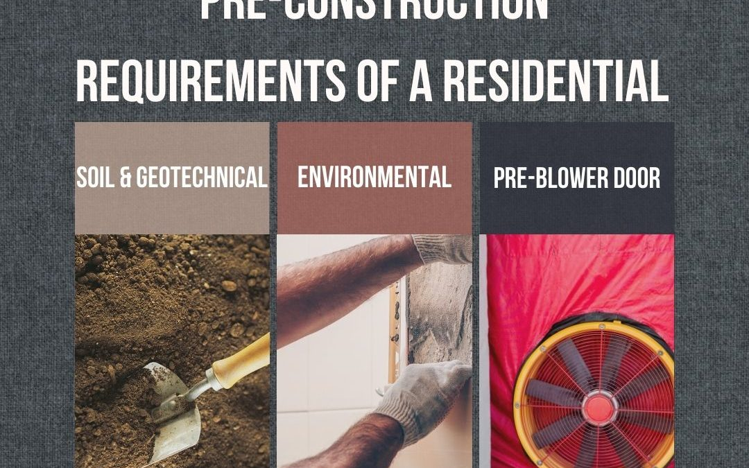 Pre-construction Process for Residential Construction