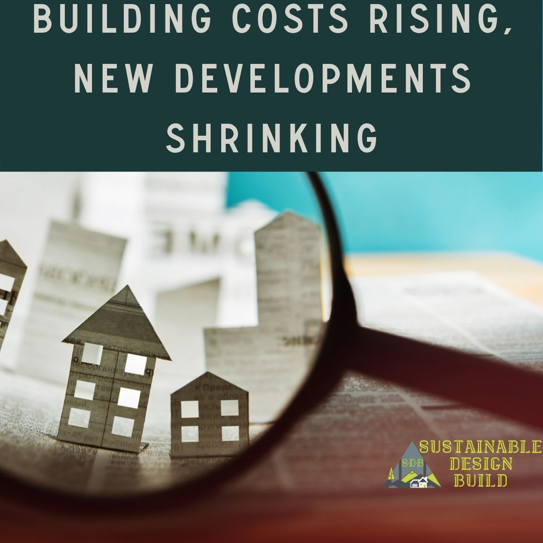 Building costs rising