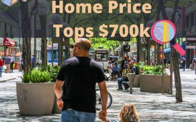 Average Denver Home Price Tops $700k