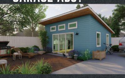 Can I build a garage ADU?