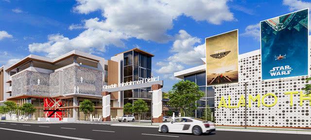 Glendale Entertainment District Denver CO Development